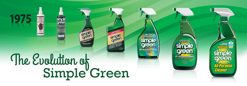 The evolution of Simple Green