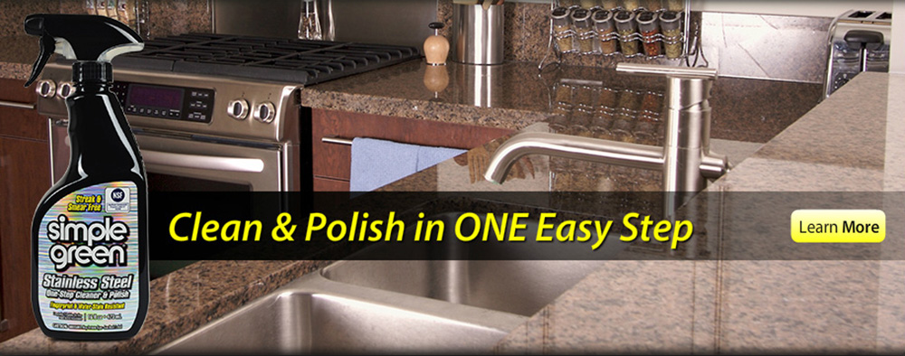 Simple Green Stainless Steel One-Step Cleaner & Polish