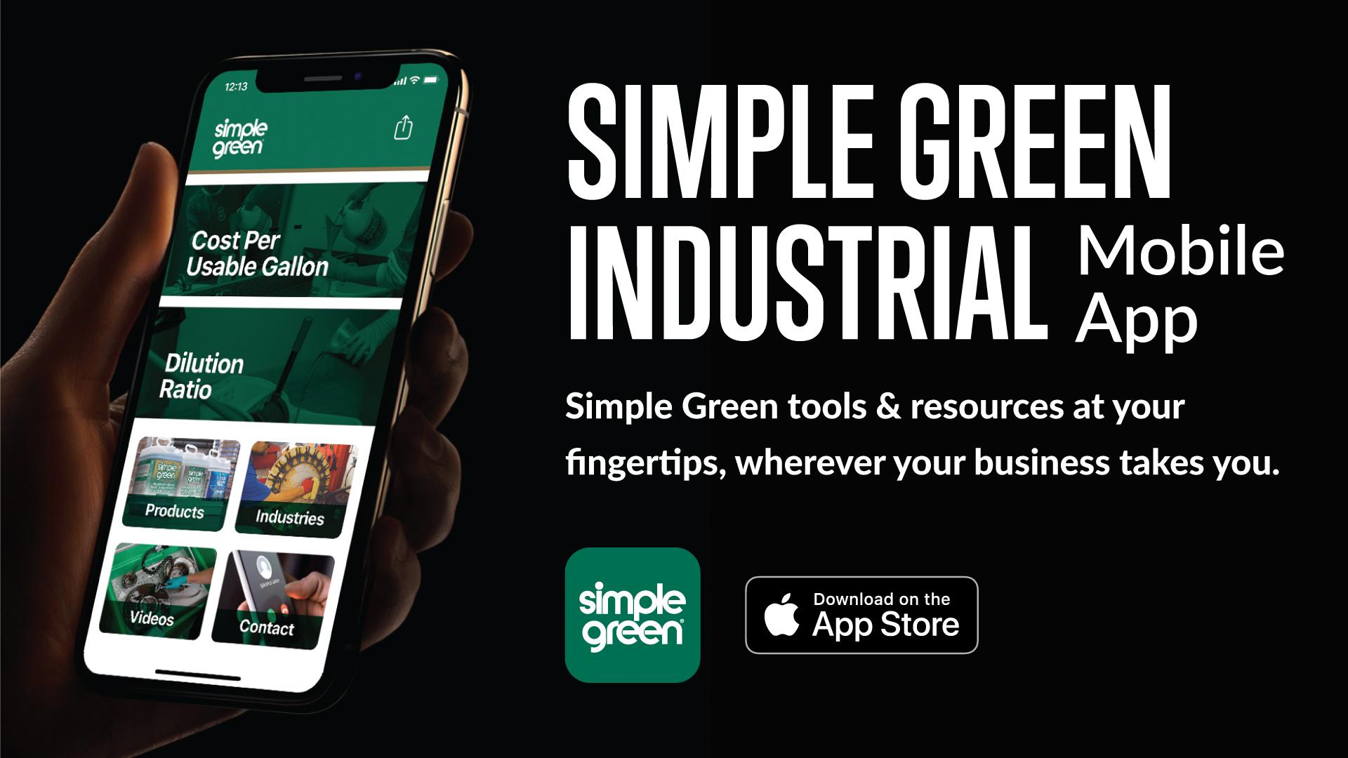 Simple Green Industrial App
