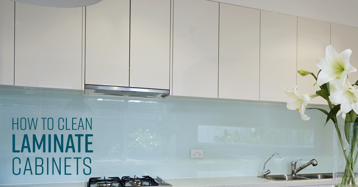 How To Clean Laminate Cabinets Simple, What Is The Best Cleaner For White Kitchen Cabinets
