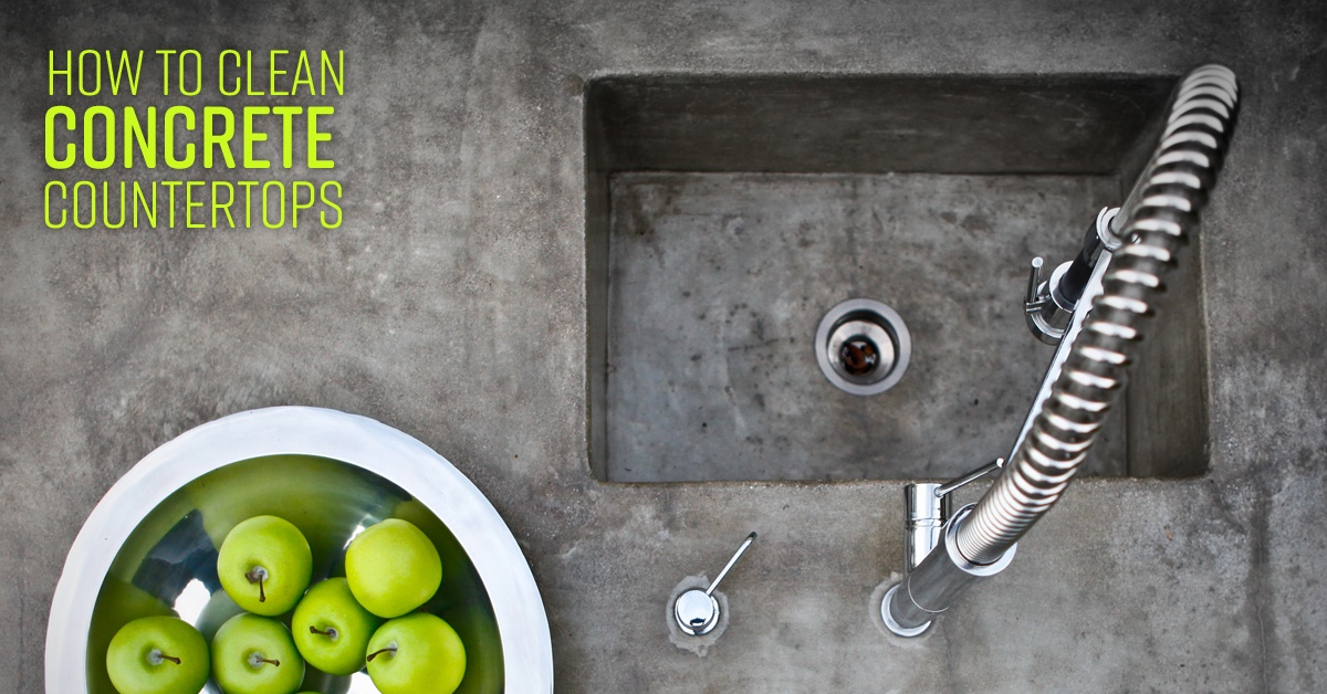 How To Clean Concrete Countertops Simple Green