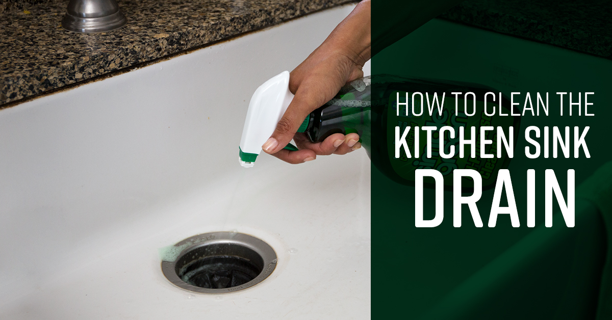 How To Clean Kitchen Sink Drain Simple Green