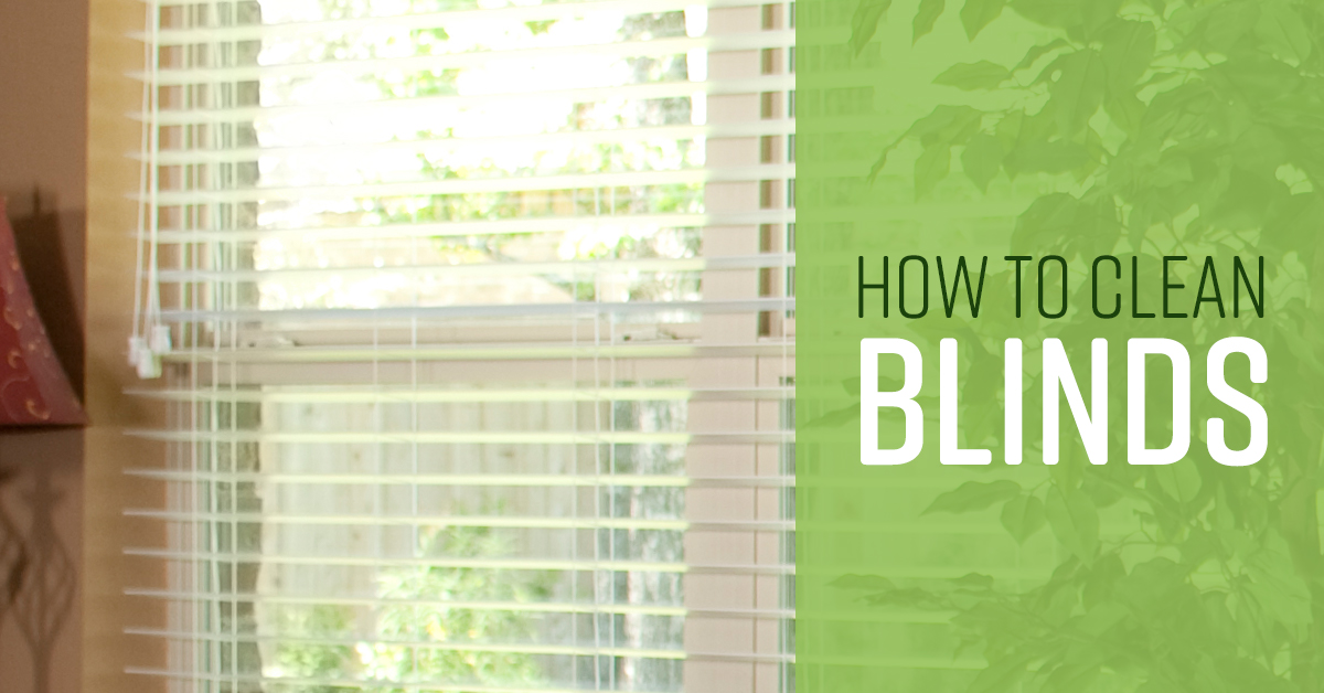 How To Clean Blinds Simple Green
