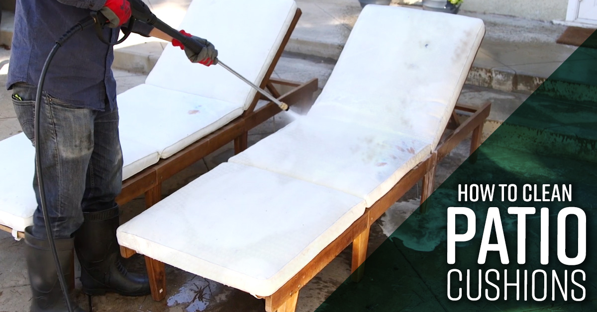 How To Clean Patio Cushions Simple Green