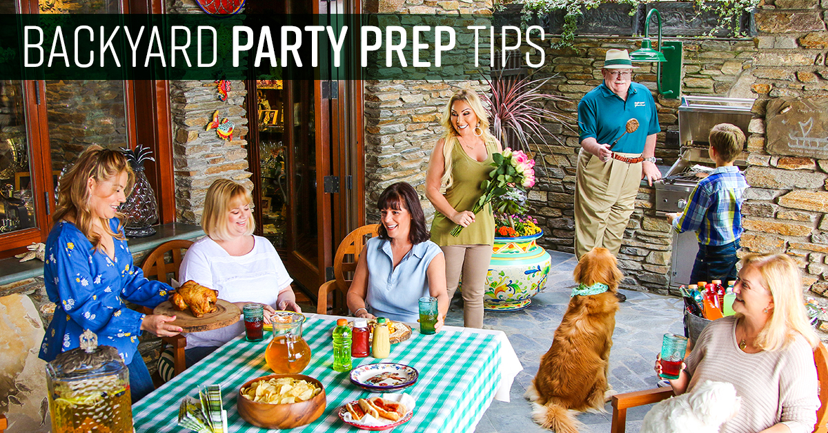 Backyard Barbecue Party Prep Tips