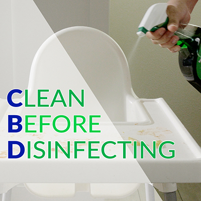 Clean Before Disinfecting: A Critical Two-Step Process