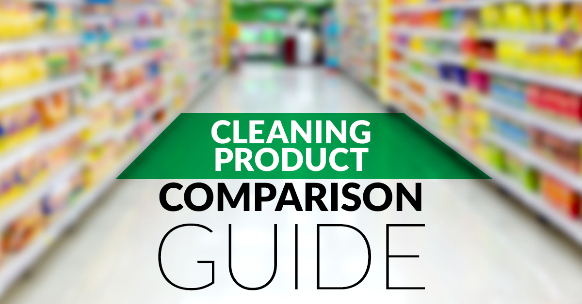 Cleaning Product Comparison