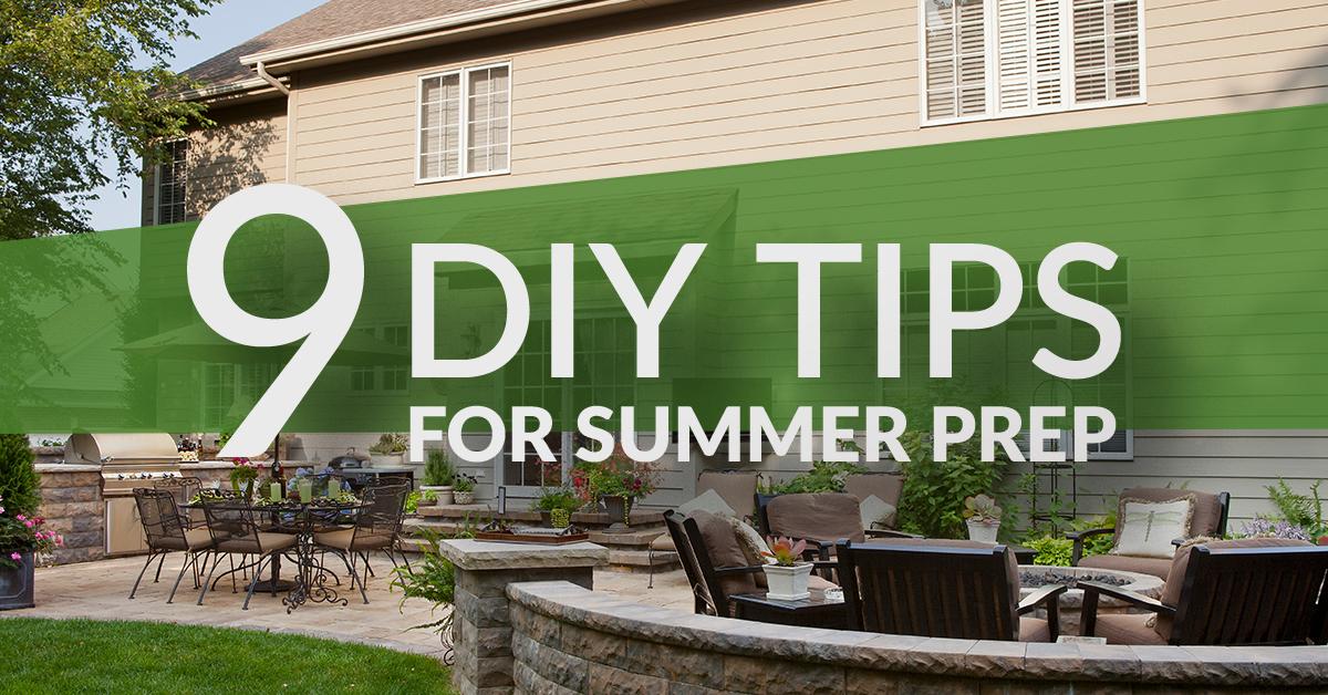9 DIY Tips For Summer Prep