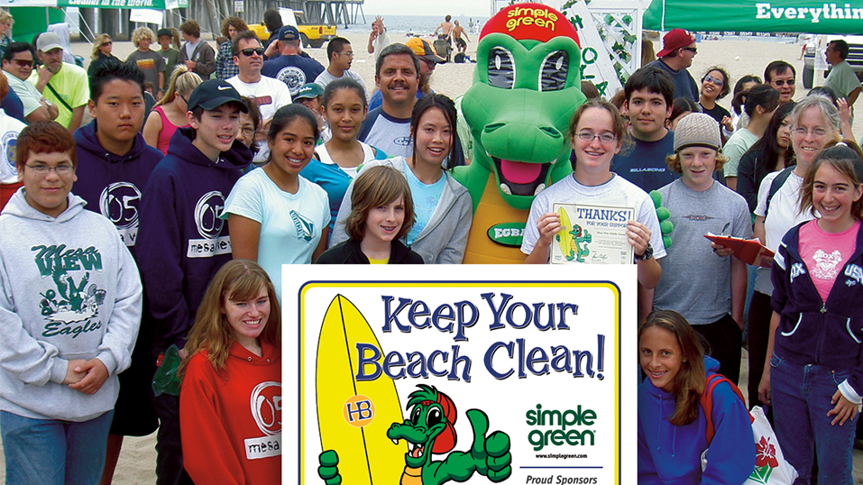 1992: Simple Green adopts Huntington Beach.