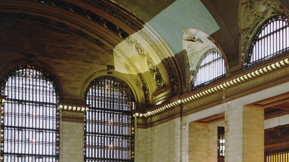 1996: Simple Green cleans Grand Central Station's Portal Ceiling in New York City.