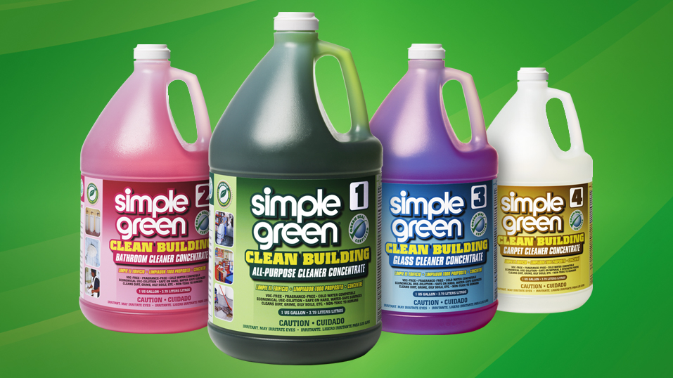 2007: Simple Green Clean Building products receive Green Seal GS-37 certification.