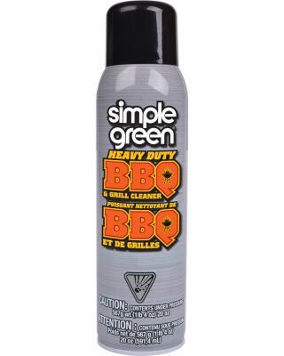 Nettoyant en mousse pour barbecues, grilles et fours à micro-ondes de Simple Green®