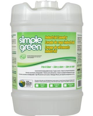 Simple Green® Industrial Laundry Free and Clear 18.9 Litre