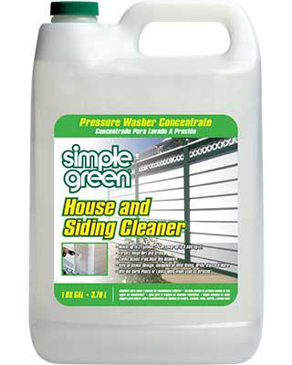 Pressure Washer House Siding Cleaner