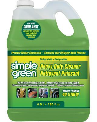 Concentré pour nettoyeurs à pression de Simple Green® - Puissant netto