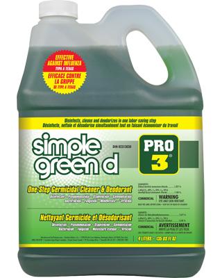 Simple Green® Nettoyant germicide et desodorisant dPro3