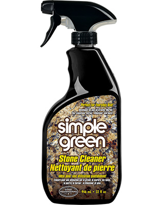 Nettoyant de surfaces pierreuses de Simple Green®