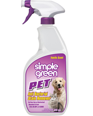 Simple Green® Pet Anti Bacterial Stain Remover