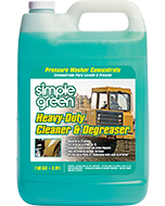 Simple Green® Heavy-Duty Cleaner & Degreaser - Pressure Washer Concentrate